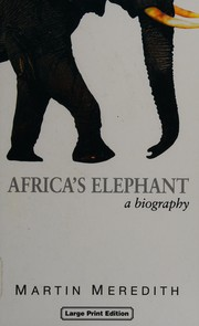 Cover of: Africa's elephant