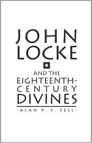 Cover of: John Locke and the eighteenth-century divines