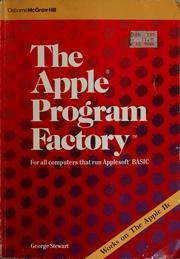 Cover of: The Apple program factory