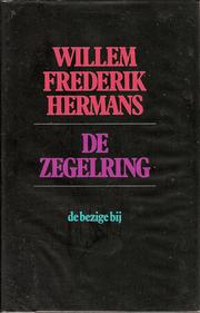 Cover of: De zegelring