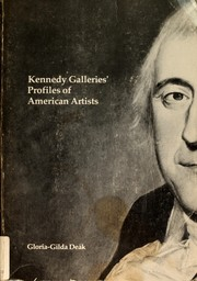 Cover of: Kennedy Galleries' profiles of American artists