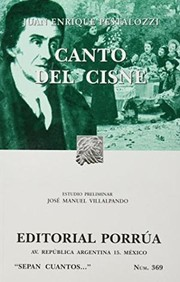 Cover of: Canto del cisne