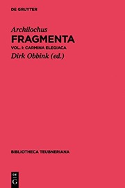 Cover of: Fragmenta