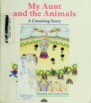 Cover of: My aunt and the animals