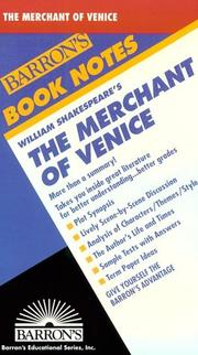 Cover of: William Shakespeare's The merchant of Venice