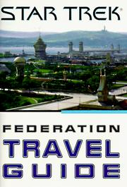 Cover of: Star trek Federation travel guide