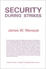 Cover of: Security during strikes