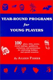 Cover of: Year-round programs for young players