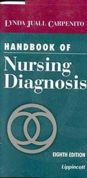 Cover of: Handbook of nursing diagnosis