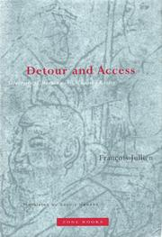 Cover of: Detour and access: strategies of meaning in China and Greece
