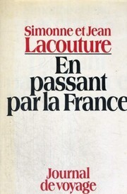 Cover of: En passant par la France