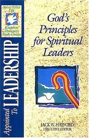 Cover of: Appointed to leadership