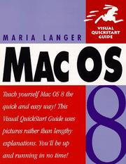 Cover of: Mac OS 8