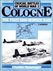 Cover of: Cologne, the first 1000-bomber raid
