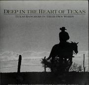 Cover of: Deep in the heart of Texas