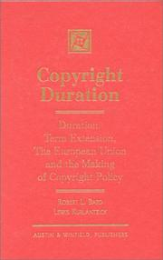 Cover of: Copyright duration