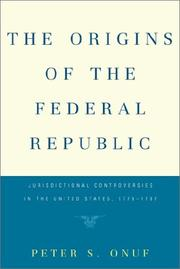 Cover of: The origins of the federal republic