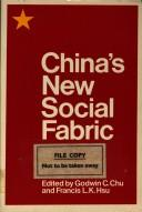 Cover of: China's new social fabric