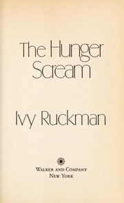 Cover of: The hunger scream