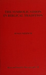 Cover of: The symbolic vision in Biblical tradition