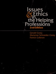 Cover of: Issues and ethics in the helping professions