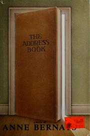 Cover of: The address book