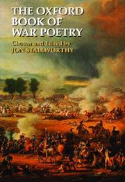 Cover of: The Oxford book of war poetry