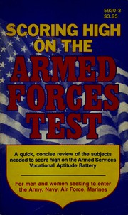 Cover of: Scoring high on the armed forces test