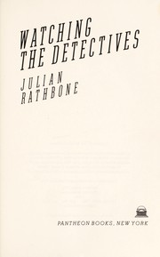 Cover of: Watching the detectives