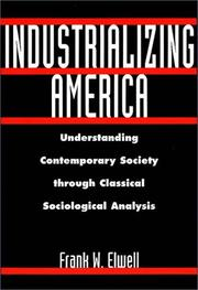 Cover of: Industrializing America