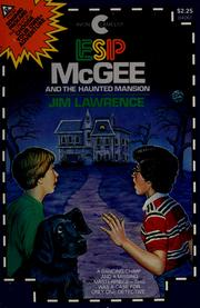 Cover of: ESP McGee and the haunted mansion