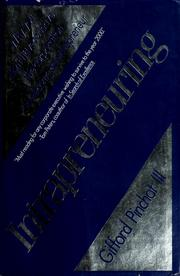 Cover of: Intrapreneuring