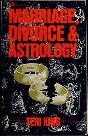 Cover of: Marriage, Divorce and Astrology