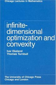 Cover of: Infinite-dimensional optimization and convexity