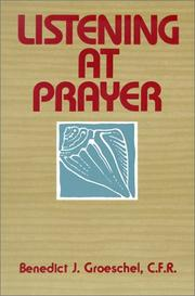 Cover of: Listening at prayer