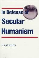 Cover of: In defense of secular humanism