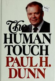 Cover of: The human touch
