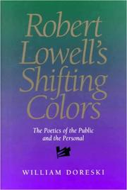 Cover of: Robert Lowell's shifting colors