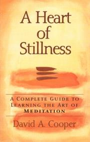 Cover of: The heart of stillness