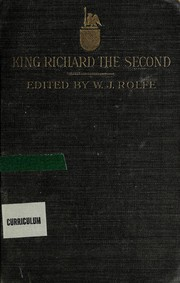 Cover of: King Richard II