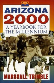 Cover of: Arizona 2000 : a yearbook for the millennium