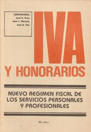 Cover of: IVA y honorarios