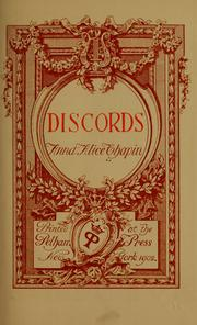 Cover of: Discords