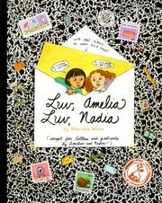 Cover of: Luv, Amelia luv, Nadia
