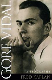Cover of: Gore Vidal: a biography