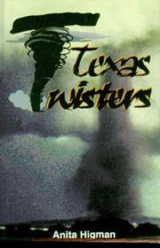Cover of: Texas twisters