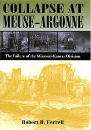 Cover of: Collapse at Meuse-Argonne