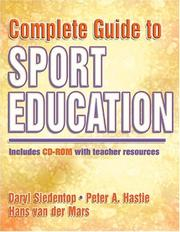 Cover of: Complete guide to sport education
