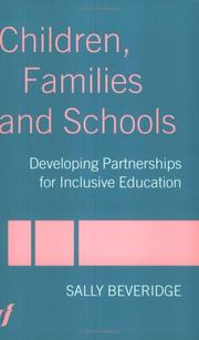 Cover of: Children, families and schools