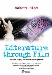 Cover of: Literature through film